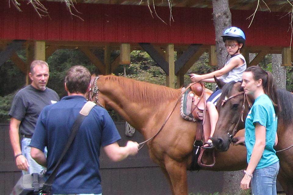 Horseback Riding   YMCA Camp Coffman   Healthy Spirit, Mind